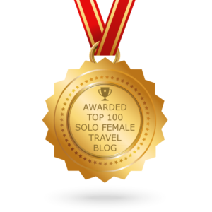 AWARDED TOP 100 SOLO FEMAL TRAVEL BLOG