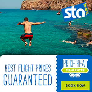 STA Travel – Best Prices Guaranteed 300 x 300
