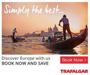 Trafalgar Tours 300 x 250