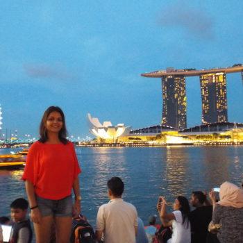 Singapore, view of Marina Bay