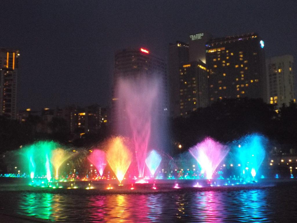 I City Digital Lights show - Located in Shah Alam, Selangor