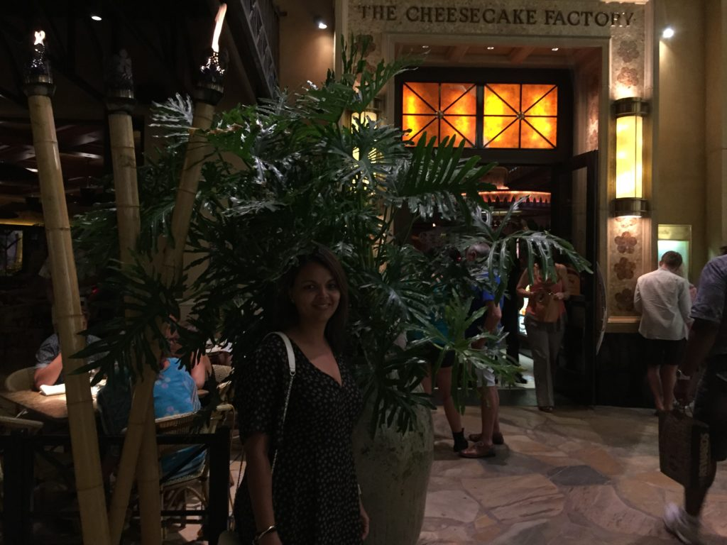 The Cheese Cake Factory, Waikiki