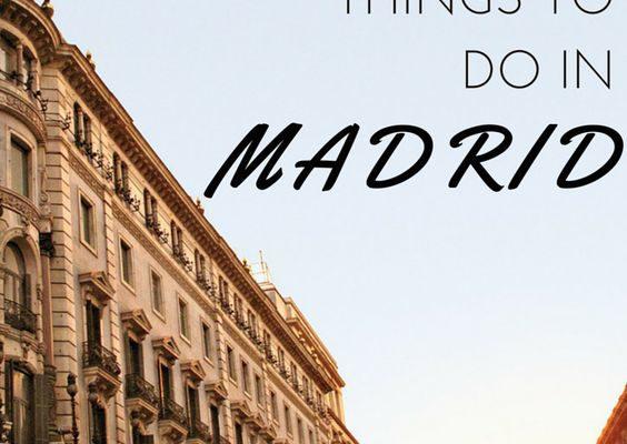 Madrid on Budget