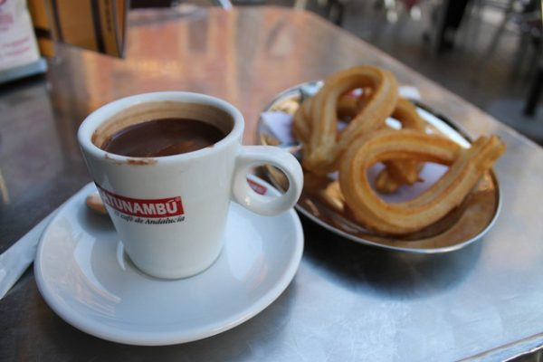 Hot Chocolate n Churro Spain