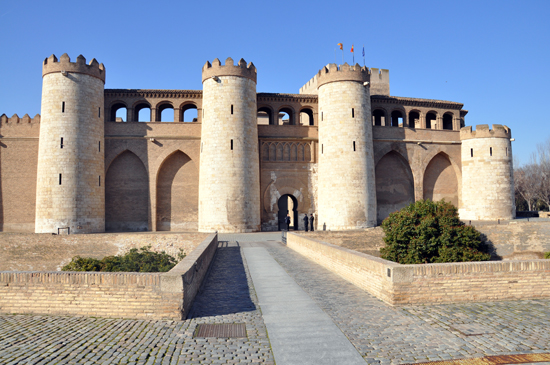 Aljaferia Palace, Zaragoza Spain