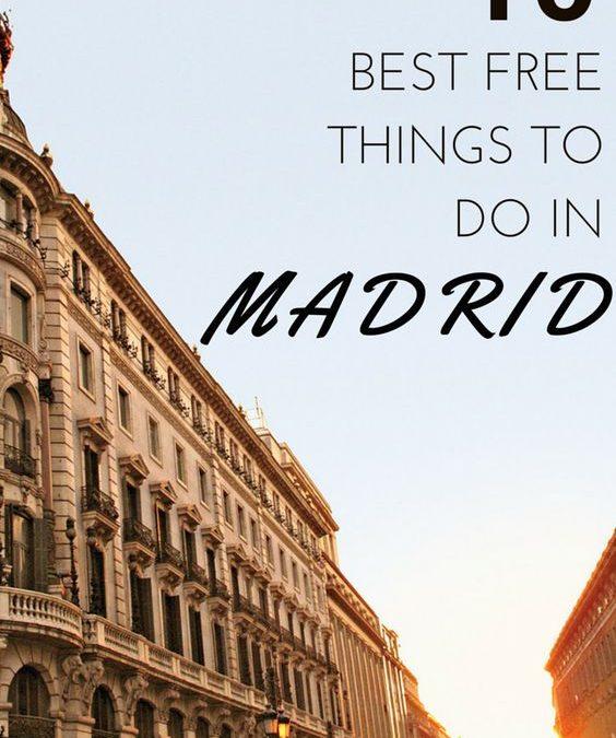 Travel Madrid on Budget