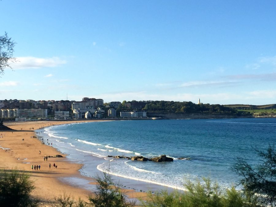 Visit the beaches of Santander, Spain