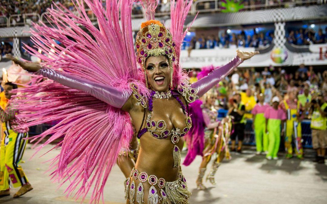Carnaval Festival in Rio de Janeiro, Brazil