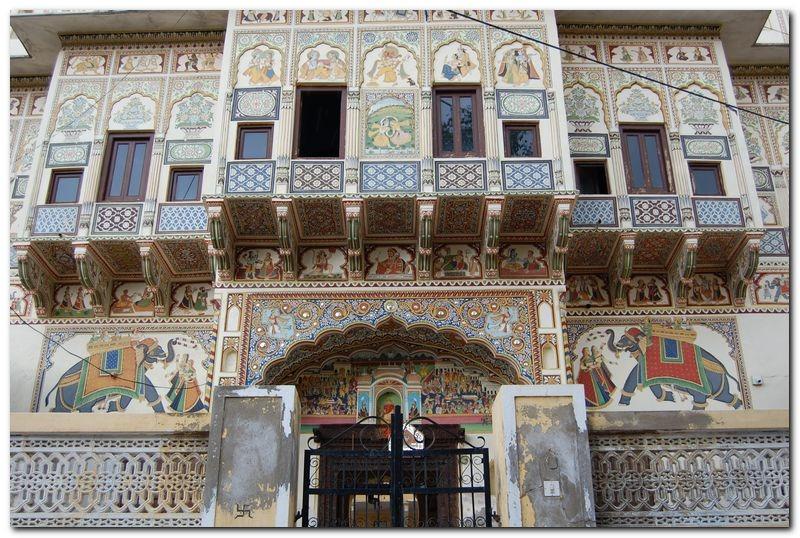 Travel solo to Mandawa India