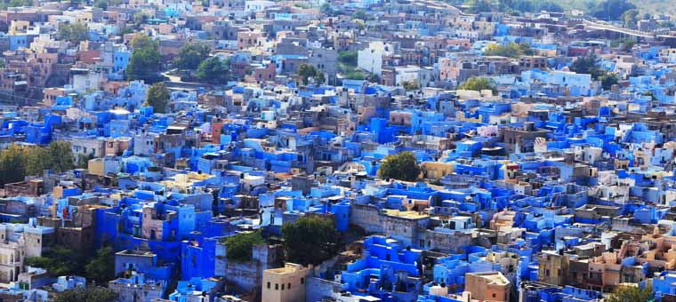 View the Jodhpur, Rajasthan in India
